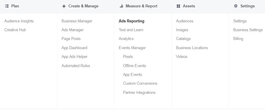 Facebook ad platform