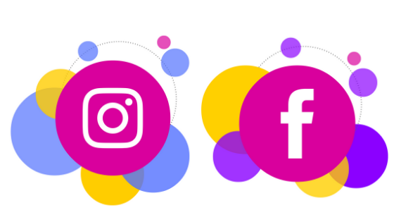 instagram via facebook